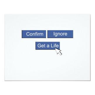 Facebook consigue una vida comunicado