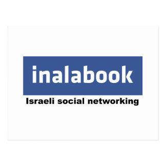 facebook israelí - inalabook tarjetas postales