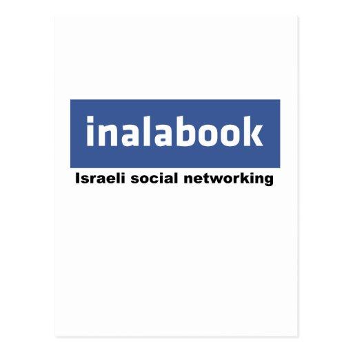 facebook israelí - inalabook postales