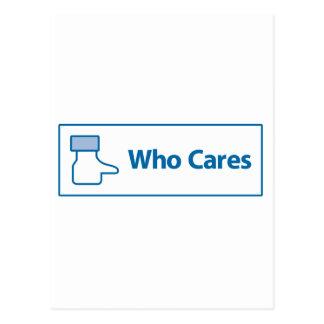 Facebook que cuida postal