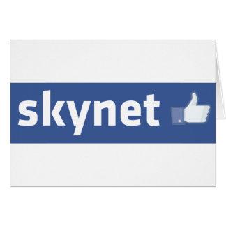 Facebook - Skynet Tarjeta De Felicitación