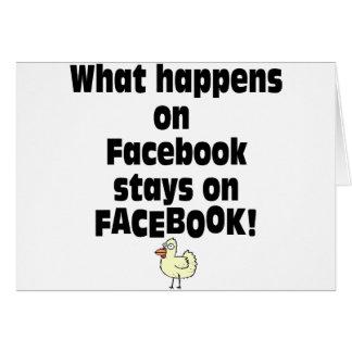Facebook Tarjeta De Felicitación