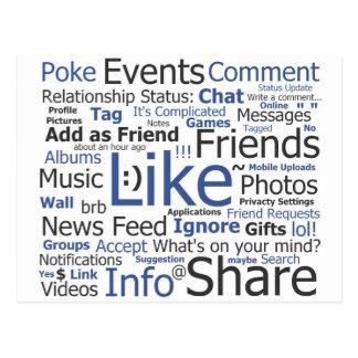 Facebook Tarjetas Postales