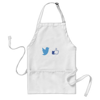 Facebook Twitter Delantal