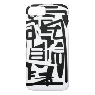 Facer blanco y negro funda iPhone 7