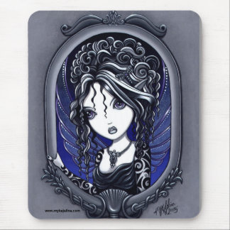 Faery elegante oscuro del tatuaje de Athena Alfombrilla De Ratón