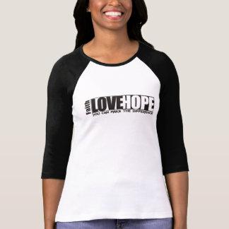 Faith, Love & Hope Camisetas