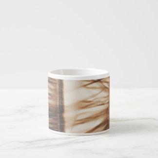 Falda de hierba elegante mínima taza de espresso