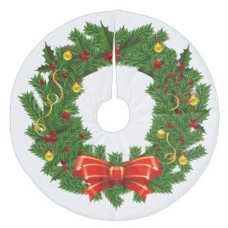 Falda/guirnalda del árbol de navidad falda para el árbol de navidad