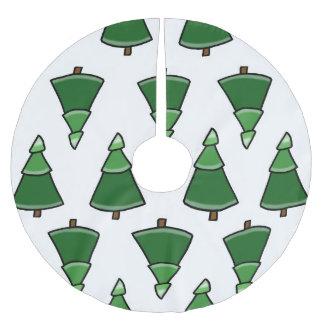 Falda Para El Árbol De Navidad De Poliéster Árboles