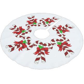 Falda Para El Árbol De Navidad De Poliéster Día de fiesta Festiva