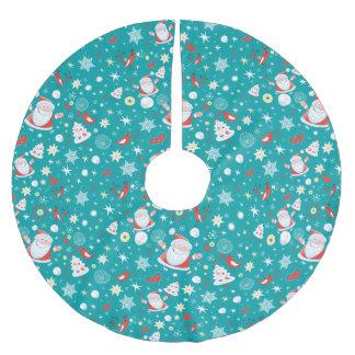 Falda Para El Árbol De Navidad De Poliéster Diversión del navidad