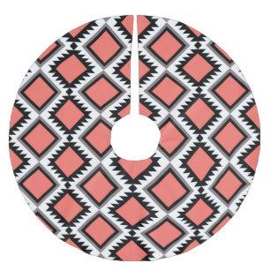 878860b2c2356 Falda Para El Árbol De Navidad De Poliéster Modelo azteca