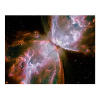 Fallecimiento estelar en la nebulosa NGC 6302 Postal