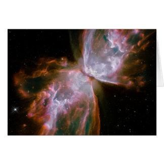 Fallecimiento estelar en la nebulosa NGC 6302 Tarjeta De Felicitación