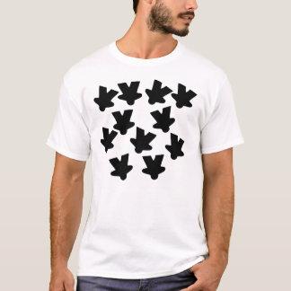 Falling Meeples - Basic Camiseta