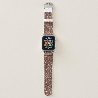 Falsa banda de reloj color de rosa de Apple del