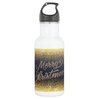 Falsa botella de agua elegante del navidad el |