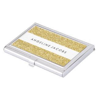 Falsa caja personalizada de la tarjeta de visita