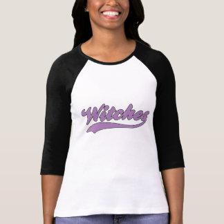 Falsa camiseta del jersey de béisbol de las brujas