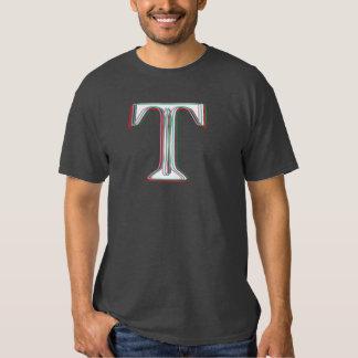 Falsa camiseta tridimensional sucia de T