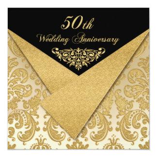 FALSA invitación 2 del aniversario del damasco