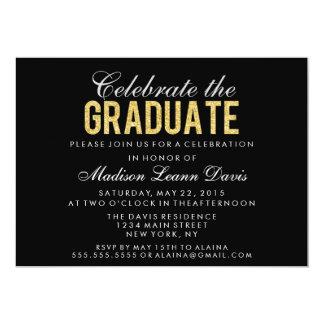 Falsa invitación de la fiesta de graduación del