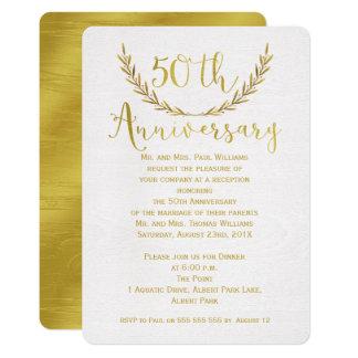 Falsa invitación del aniversario de la caligrafía