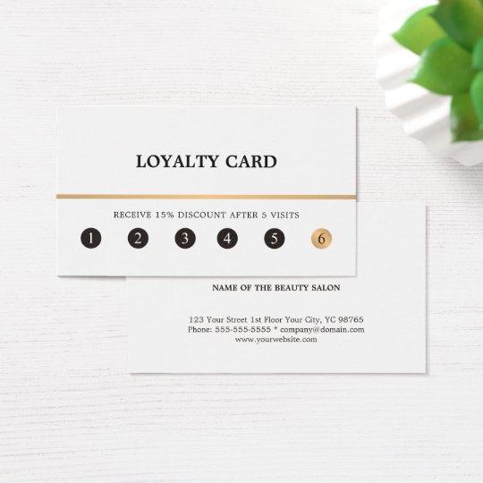 Falsa línea limpia elegante moderna tarjeta del