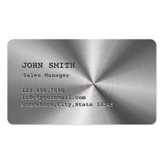 Falsa tarjeta de visita del encargado de ventas de