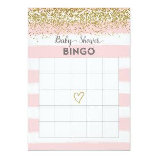 Falsa tarjeta del bingo de la fiesta de bienvenida invitación 12,7 x 17,8 cm