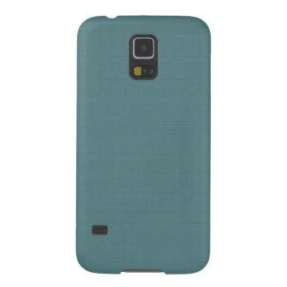 Falso azul de lino clásico de Smalt Carcasa Galaxy S5
