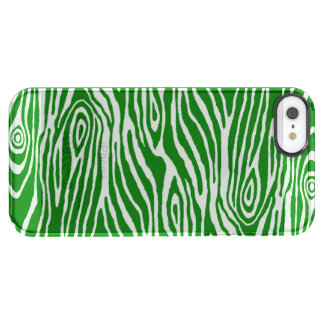 Falso Bois Funda Transparente Para iPhone SE/5/5s