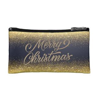 Falso bolso cosmético elegante del navidad el |