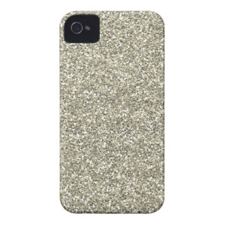 Falso brillo de plata carcasa para iPhone 4 de Case-Mate