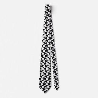 Falso de varios colores-de-poule con el lazo 1 de corbata personalizada