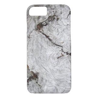 Falso Driftwood agrietado Funda iPhone 7
