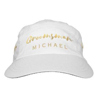 Falso gorra del boda de la escritura del cepillo gorra de alto rendimiento