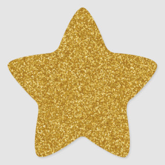 Falso pegatina del brillo del oro