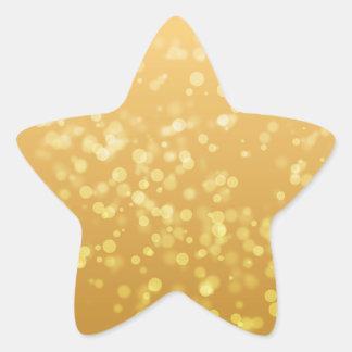 Falso pegatina del oro