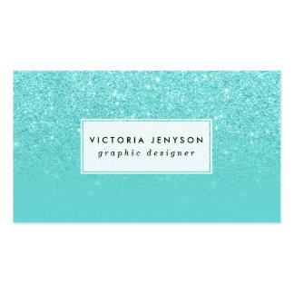 Falso personalizado elegante del bloque del trullo tarjetas de visita
