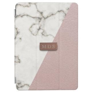 Falso se ruboriza la cubierta de mármol de cuero cover de iPad air
