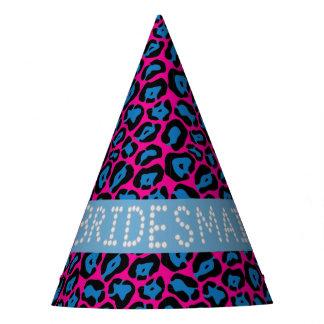 Falsos gorras de la dama de honor del diamante del