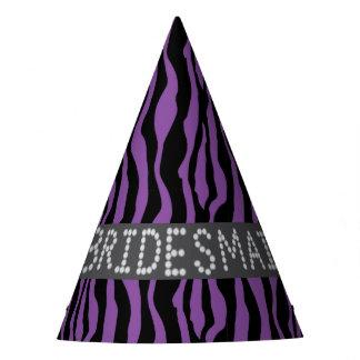 Falsos gorras del fiesta de la dama de honor del