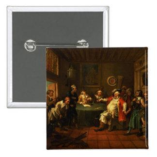 Falstaff que examina a sus reclutas del Enrique IV Pin
