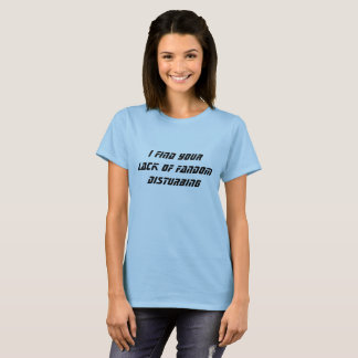 Falta de camiseta del Fandom