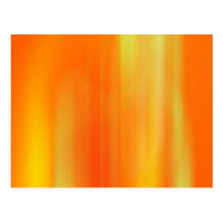 Falta de definición de movimiento anaranjada y postal