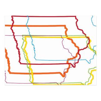 falta de definición del orgullo de Iowa Postal