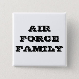 Familia de la fuerza aérea del botón