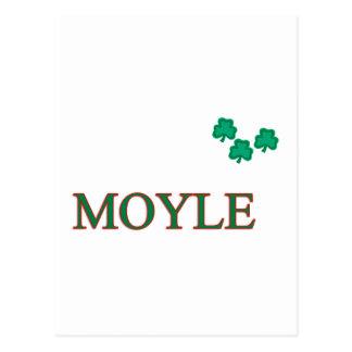 Familia de Moyle Postal